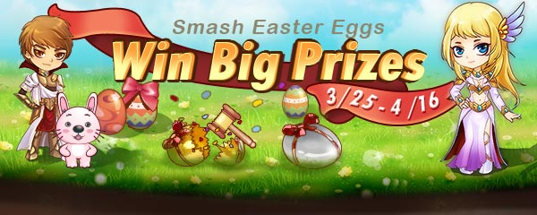 Smash Easter Eggs to Win Big Prizes