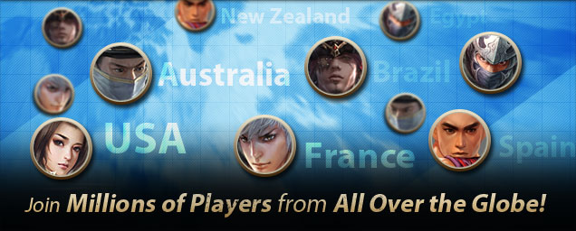 Join Millions of Players from All Over the Globe