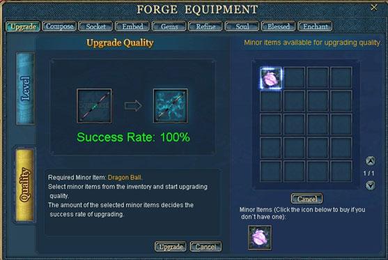 Equipment Improving