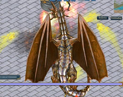 sealed Dragon