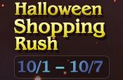 Halloween Shopping Rush