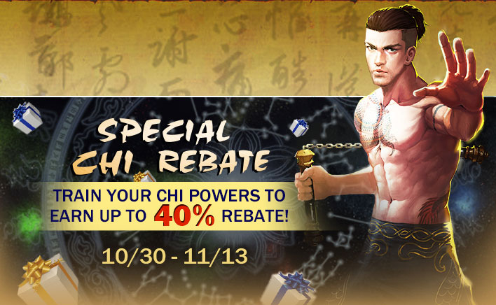 chi point rebate for the new