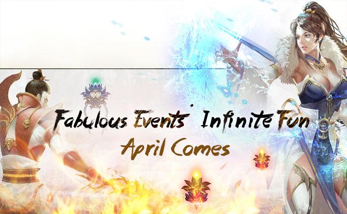 Fabulous Events Infinite Fun - April Comes