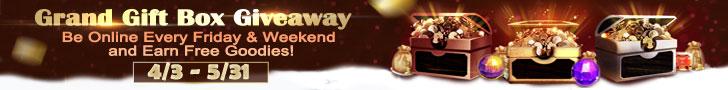 Grand Gift Box Giveaway