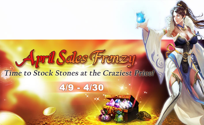 April Sales Frenzy