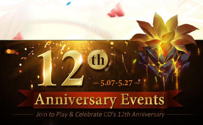 12th Anniversary Celebration Events