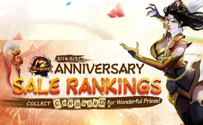 12 Anniversary Sale Rankings