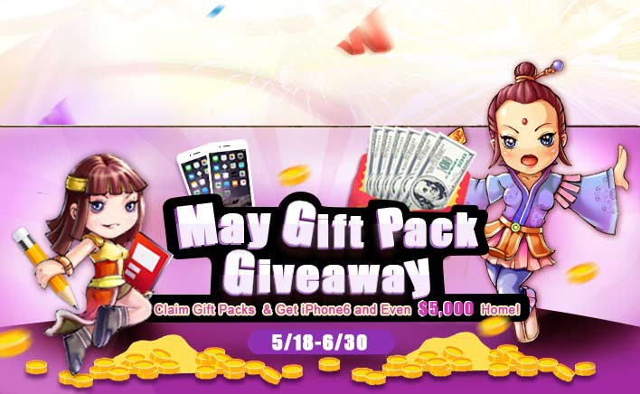 Claim Your May Gift Packs & Get Fortunes Back