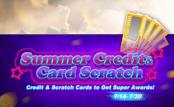 Summer Credits and Card Scratch