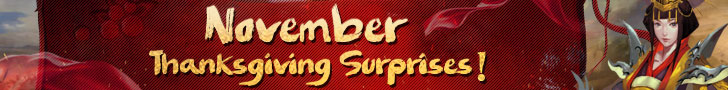 November Thanksgiving Surprises
