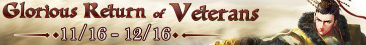 Glorious Return of Veterans