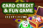 Card Credit & Fun Game