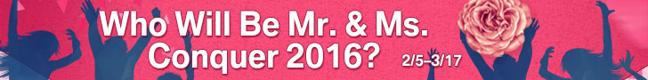 Who Will Be MR. & MS. Conquer 2016?
