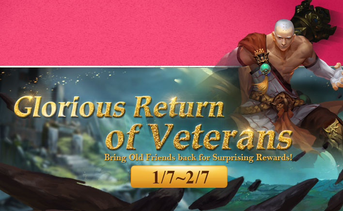 Glorious Return of Veterans