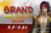 Grand Anniversary Sales