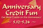 Anniversary Credit Fun