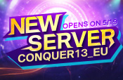 New Server Conquer 13_EU