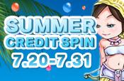 Summer Credit Spin