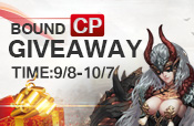 Bound CP Giveaway
