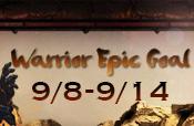 Warrior Epic Goal