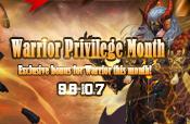 Warrior Privilege Month