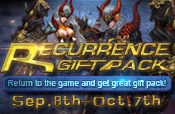 Recurrence Gift Pack