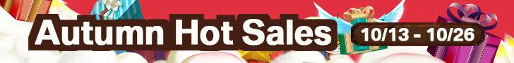 Autumn Hot Sales