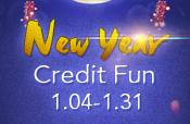 New Year Credit Fun