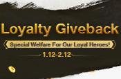 Loyalty Giveback