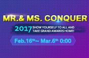 Mr. & Ms. conquer