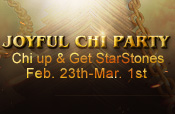 Chi up and get StarStones!