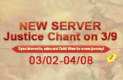 New Server-Justice Chant Opens