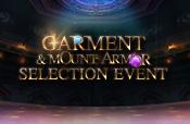 Garment Mount Armor Selection Event