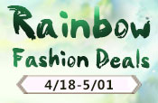 Rainbow Fashion Deals