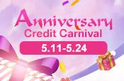 Anniversary Credit Carnival