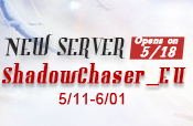 New Server ShadowChaser EU Opens on 5/18