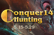Conquer14 Hunting
