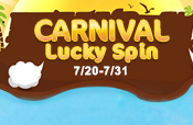 Carnival Lucky Spin