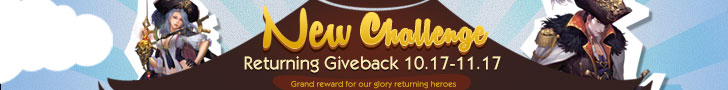 New Challenge Returning Giveback
