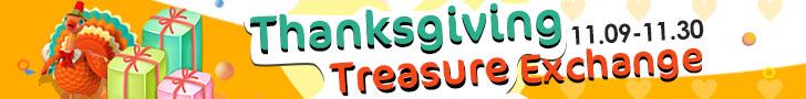 Thanksgiving Treasure Exchange
