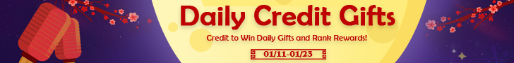 Daily Credit Gifts