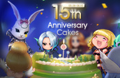 15th Anniversary Cakes