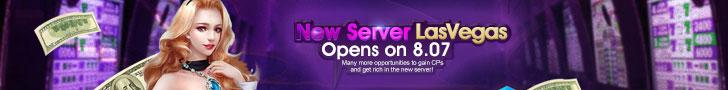 New Server LasVegas Opens on 7.12