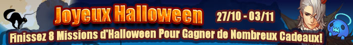 Evenement d'Halloween