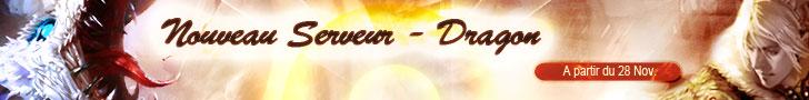 Events sur Nouveau Serveur Dragon