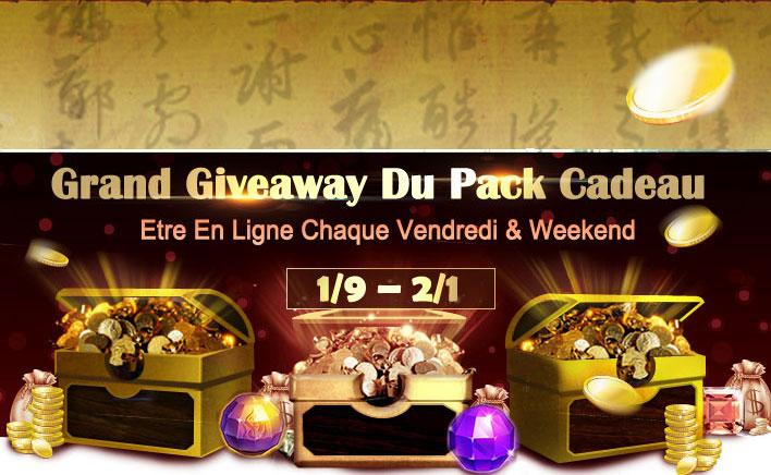Grand Giveaway du Pack Cadeau