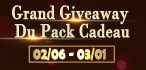 Grand Giveaway du Pack Cadeau