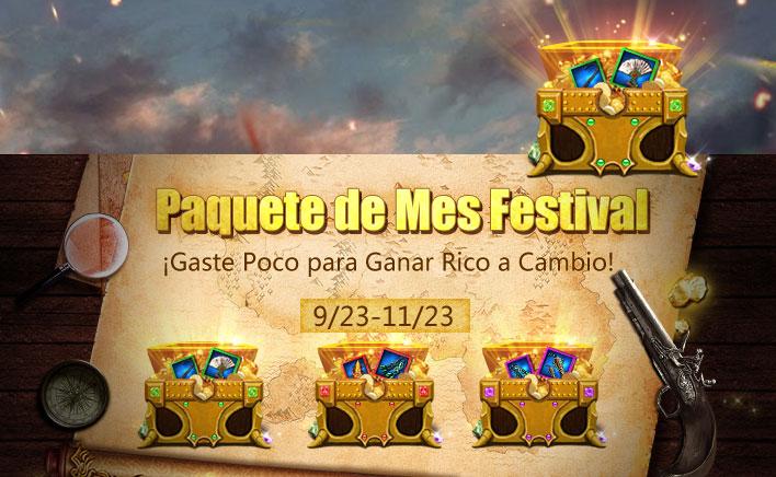 Paquete de Mes Festival