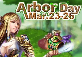 Eudemons Arbor Day