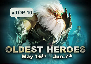 Eudemons Top 10 Oldest Heroes